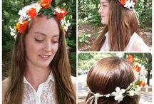 Flower Crowns & Headpieces / Hair & fashion inspiration in the form of lovely flower crowns & flower headpieces // / by Brooke Helen Designs