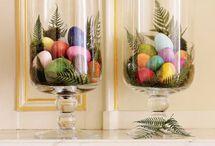 Pretty spring centerpiece / by Stephanie Brown