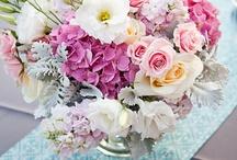 Flowers - pink & green / by Jeneec K