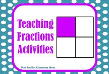 Fractions Activities for K - 3rd Grade / Fern Smith's Pinterest Board for Fraction Activities for Math Teachers K - 3rd Grade Including Freebies!  / by Fern Smith