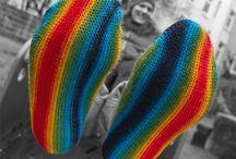 knitting / by Liv Mikalsen