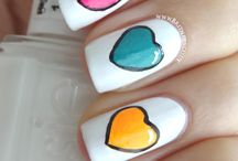 nails / nail art / by Tracy Lawrence