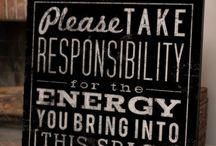 Energy / by Melissa Dery (The Golden Rule VA)
