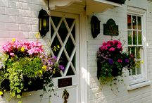 window boxes / by Gabrielle Tucker Mader