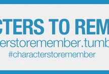 Characters to Remember / http://characterstoremember.tumblr.com  A web site that honors the best characters from films & television of all the time, those characters that we will always remember.   Un sitio web que homenajea a los mejores personajes del cine y de la televisión de todos los tiempos, esos personajes que siempre recordaremos.  http://characterstoremember.tumblr.com  #CharactersToRemember #Characters #Film #Movies / by Juan Francisco Pérez Villalba