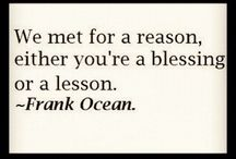A BLeSSinG or a LeSSoN?!?!?! / by Joan Cervantes