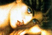 Dante Gabriel Rossetti / by Leslie Gray