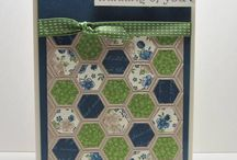 Stampin' Up! - Honeycomb Embossing Folder / by Rochelle Blok, Independent Stampin'  Up! Demonstrator