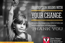 How you can help. / Ways to help the Foundation raise money and spread awareness. / by Dave Thomas Foundation for Adoption