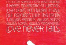 Faith, Hope and Love / by Carla Soler