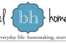 Biblical homemaking / by Shar Heims