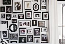 Gallery Wall Inspiration / by Sarah Vespasian