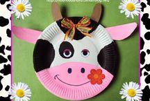 paper plate crafts / by Debra Mainiero