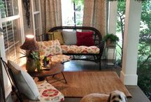 porch ideas / by Elizabeth Ray