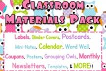 Classroom/Teaching / by Christina Pena