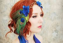 Hair Adornments / by TheMocking Magpie