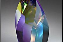 Art Glass / I love the beautiful colors and fluid shapes of glass / by Christine Licker