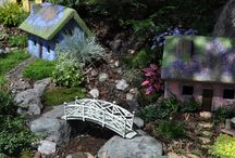 fairy gardening / by Peggy Johnson (Every Good Color on Etsy)