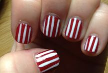 Cream and Crimson Nails / by Indiana Hoosiers