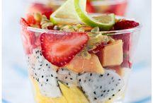 healthy snacks / by Stephanie Syckle