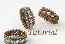Beading ideas: Rings / I love the look of beaded rings! / by Darlene Ortega