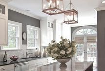 Kitchens I Love / Kitchen design, kitchen cabinets, countertops, appliances, back splashes / by Becky Scott