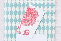 Logó és arculat inspiráció / by Papercat Design