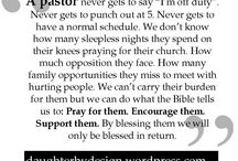 Pastor apprecation / by Crystal Sharp