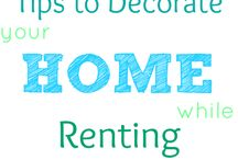 How decorate your home if Renting / by Marisa Aguilera