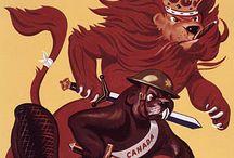 WWI & WWII Posters & Nose Art / by Elizabeth Shardelow