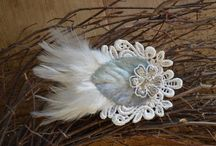 Petite Fleur Designs / Petite Fleur Designs has an Etsy shop now with beautiful handcrafted hair accessories, jewelry and more.  These accessories are perfect weddings or any special occasion. / by Laura Gendron