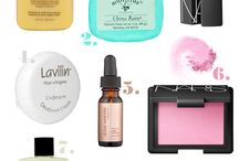 beauty faves / by Bonnie Donaldson