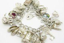 Silver Charm Bracelets / My favorite vintage sterling silver bracelets and charms... / by Kiradele