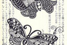 zentangle / by Linda Bynum