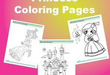 Coloring Pages / Free coloring pages, coloring printables, and coloring worksheets / by SchoolFamily.com