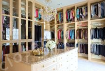 Fabulous Closets! / by Wolfe Design House