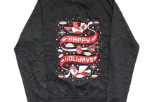 Awesome Christmas Jumpers 2013! / We've had the pleasure of printing up 3 AM Xmas Jumpers this year! Designed by Drew Millward, Kate Prior & Kristyna Baczynski, you can one here: http://awsmr.ch/AwesomeJumpers / by Awesome Merchandise