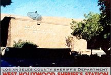 West Hollywood Sheriff's Station / 780 N San Vicente Blvd West Hollywood, California 90069- Phone (310)855-8850 / by Los Angeles County Sheriff's Department