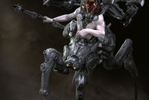 Alien/ Sci Fi characters / by James McCarty