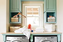 Laundry room Ideas / by Rhonda Arthur
