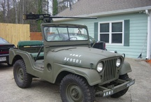 Willys M38A1 / 1952-1971 Willys M38A1 / by Kaiser Willys Auto Supply