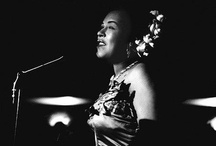 "Billie Holiday / Billie Holiday was an African American jazz singer and songwriter. Nicknamed ""Lady Day"" by her friend and musical partner Lester Young, Holiday had a seminal influence on jazz and pop singing / by Zandra Conway"