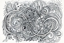 Clever and Talented - Zentangle / by Holly Acuff