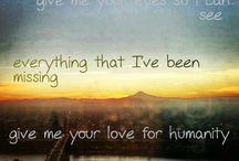 Lyrics / by Hannah Fitz