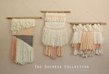 Weaving // Textile // Fiber // Art- SVC / by Kristan Carroll