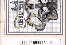 Cross stitching / by Theresa Cavada