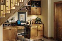 Under stair storage / by Clair Gordon