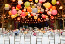 Ceiling decor / by Bespoke-Bride