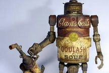 Robots / by Ruth Siddall