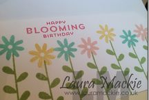Stampin' Up! Flower Patch / by Annette Davis - Independent Stampin' Up! Demonstrator